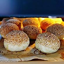 #四季宝蓝小罐#花生酱火烧~在家也可以做的街边小吃
