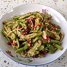 蒜蓉剁椒刀豆