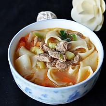 新疆羊肉汤饭——冬季暖身