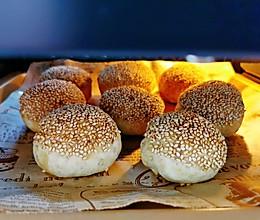 #四季宝蓝小罐#花生酱火烧~在家也可以做的街边小吃的做法