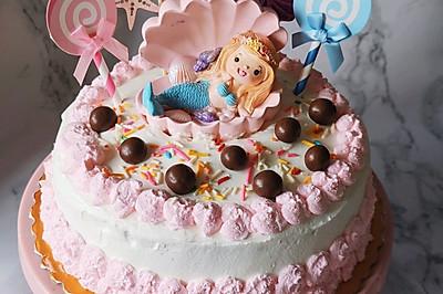 自制生日蛋糕,戚风胚不塌陷松软绵密!从此告别蛋糕店!