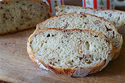 红豆薏米面包