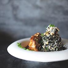 为各种情人节和纪念日做准备-味增奶油蘑菇鸡排意面
