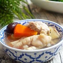 胡萝卜排骨花生汤:心动的感觉