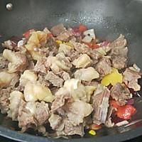 #家常菜#番茄土豆炖牛腩的做法图解11