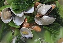 蛤蜊芥菜汤的做法
