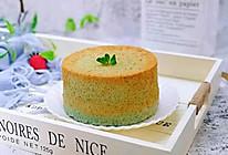 #做道好菜,自我宠爱!#六寸蝶豆花戚风蛋糕的做法