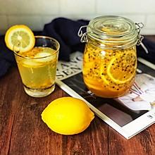 百香果蜂蜜柠檬茶