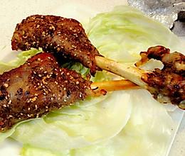 烤箱出炉外焦里嫩的烤羊腿(小羊腿)的做法