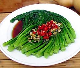 凉拌油麦菜的做法