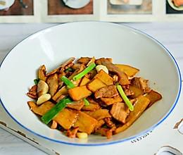 #一人一道拿手菜#杏鲍菇肉片的做法