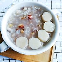 调理脾胃食谱:芡实薏米山药粥的做法图解6