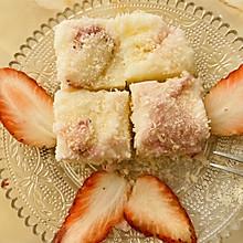春天草莓椰蓉奶冻