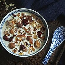美容甜品——牛奶桃胶