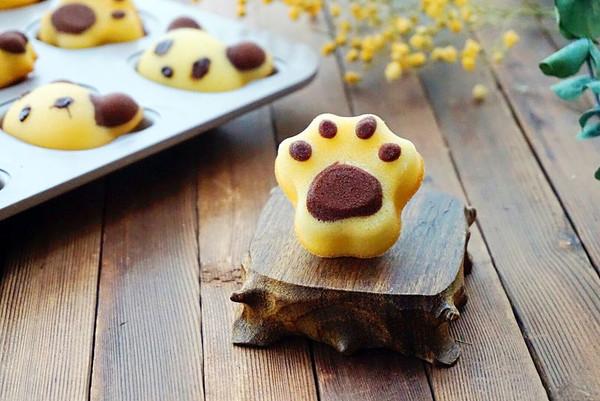 猫爪玛德琳蛋糕
