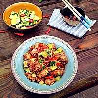 干煸麻辣排骨-----冬季开胃菜的做法图解19