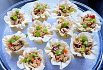 糯米香菇肉末烧麦的做法