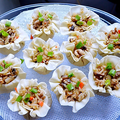 糯米香菇肉末烧麦