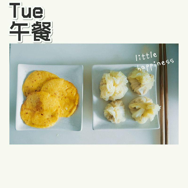 #爱的暖胃季-美的智能破壁料理机#鲜玉米饼+白菜包
