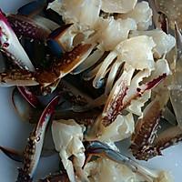 姜葱炒花蟹(梭子蟹)的做法图解1