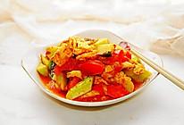 #夏日消暑,非它莫属#西红柿黄瓜炒鹅蛋的做法