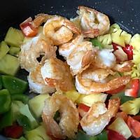 免油炸 | 高颜值减脂餐 | 菠萝咕咾虾 |的做法图解11