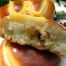 卡仕达红豆面包