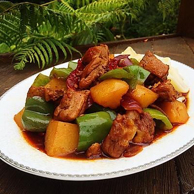 新疆大盤雞 (附拉面做法)