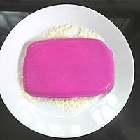 火龙果椰蓉奶糕的做法图解11