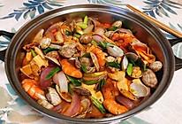海鲜蔬菜锅的做法