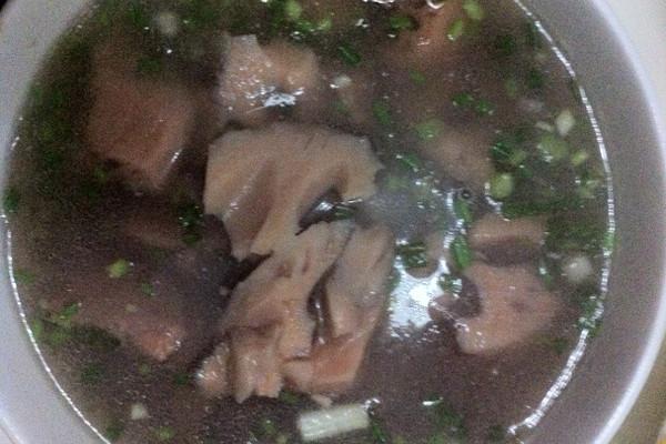 排骨炖湖藕的做法