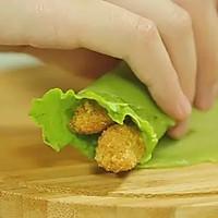 【微体】爱这一抹绿 芹菜鸡肉卷的做法图解16