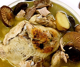 清炖花菇鸡的做法