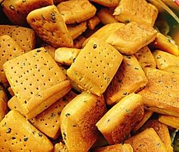 芝麻小苏打饼干的做法