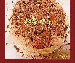 宅在家的美味|8寸巧克力黑森林生日蛋糕,美味生活从此刻开始的做法