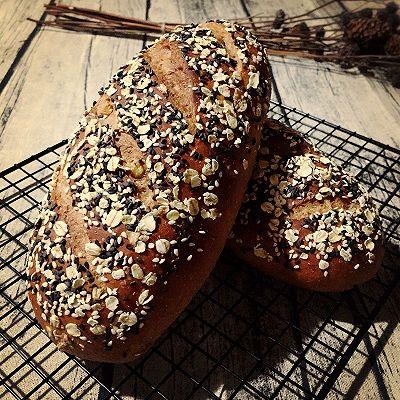 百分百全麦面包