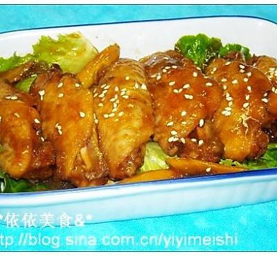 洋葱烩鸡翅