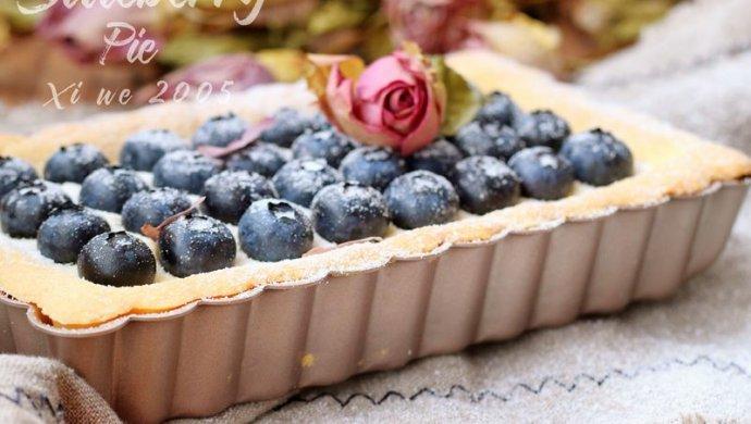 蓝莓奶酪塔