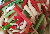 炒海鲜菇的做法