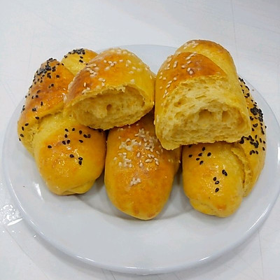 【九阳食尚学院】      南瓜面包
