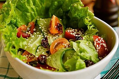 芝麻蔬菜沙拉