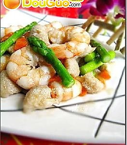 龙井猴头菇虾仁的做法