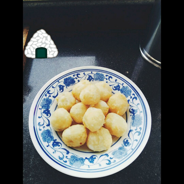 糯米丸子的做法