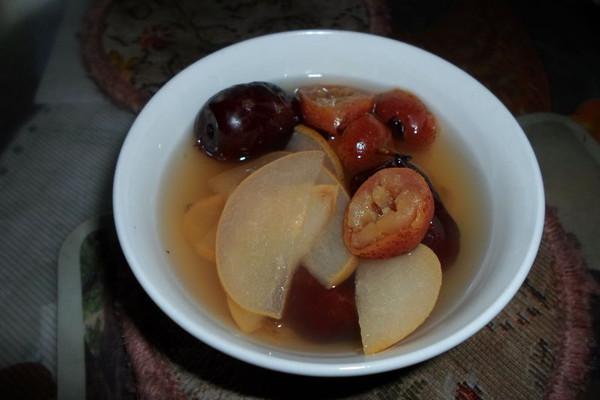冰糖水果汤的做法