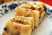 新春佳节必吃的年年高------香煎萝卜糕的做法