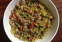 酸豆角(酸豇豆)炒肉末(超简单、快捷、详细的麻辣川味家常菜)的做法