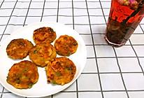 快手早餐~杂蔬鲜虾土豆饼的做法