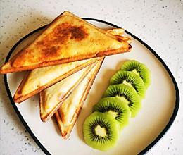 早餐机里的香蕉饼的做法