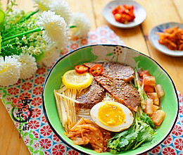 酸甜爽口的朝鲜冷面的做法