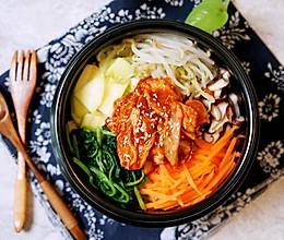 #入秋滋补正当时#简单美味的石锅拌饭的做法